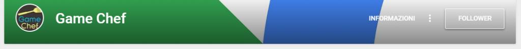 Google+: Pagina del Game Chef